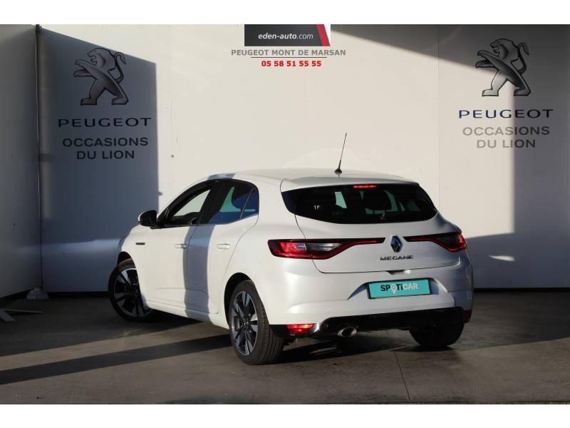 Renault Megane IV BERLINE Blue dCi 115 Intens Blanc occasion à Saint-Pierre-du-Mont - photo n°5