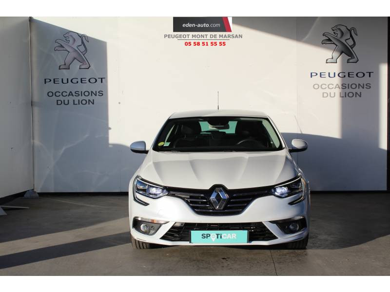Renault Megane IV BERLINE Blue dCi 115 Intens Blanc occasion à Saint-Pierre-du-Mont - photo n°2
