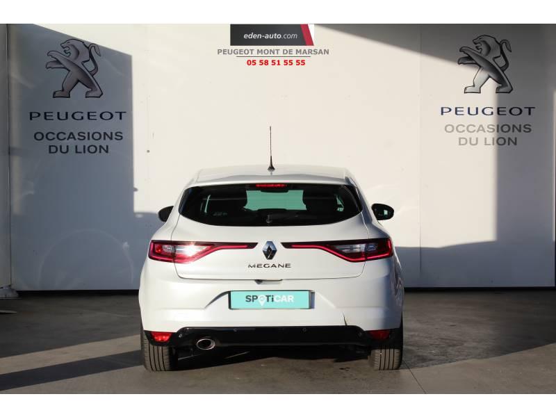 Renault Megane IV BERLINE Blue dCi 115 Intens Blanc occasion à Saint-Pierre-du-Mont - photo n°4