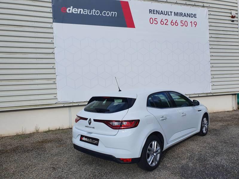 Renault Megane IV BERLINE BUSINESS Blue dCi 115 Blanc occasion à Moncassin - photo n°3