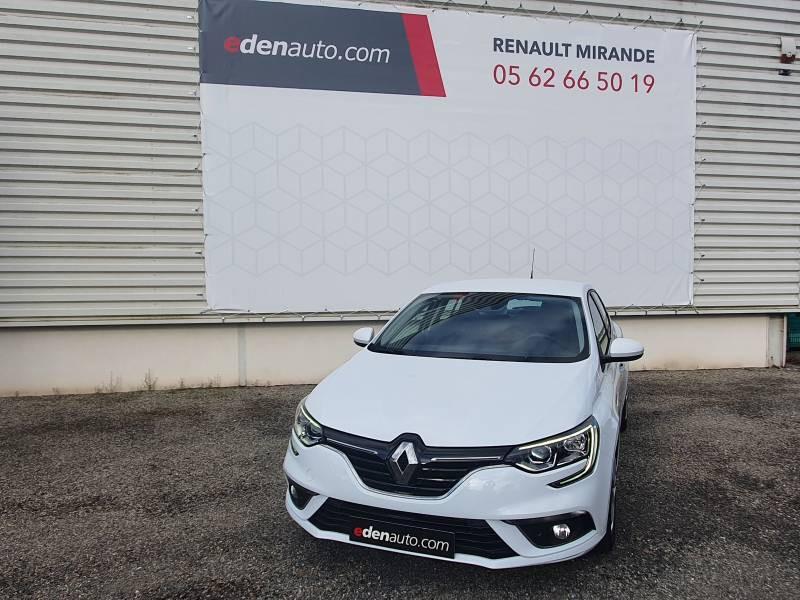 Renault Megane IV BERLINE BUSINESS Blue dCi 115 Blanc occasion à Moncassin - photo n°2