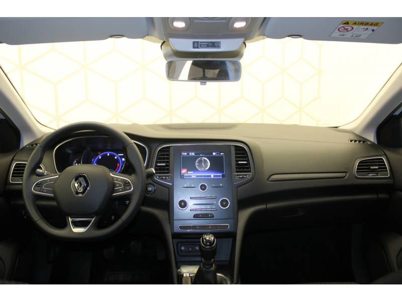 Renault Megane IV BERLINE BUSINESS Blue dCi 115 Blanc occasion à Orthez - photo n°7