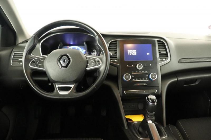 Renault Megane IV BERLINE BUSINESS TCe 100 Energy Bleu occasion à Toulouse - photo n°3
