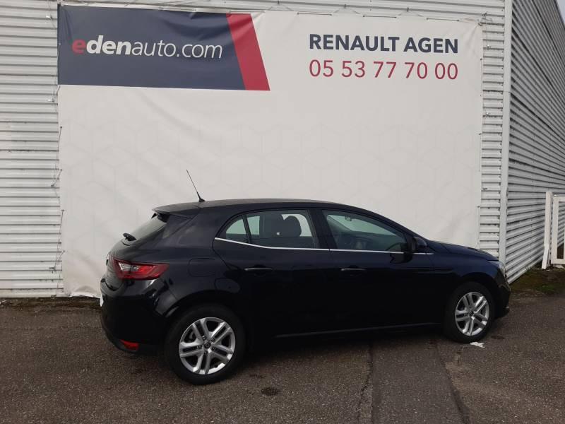 Renault Megane IV BERLINE BUSINESS TCe 115 FAP Noir occasion à Agen - photo n°5