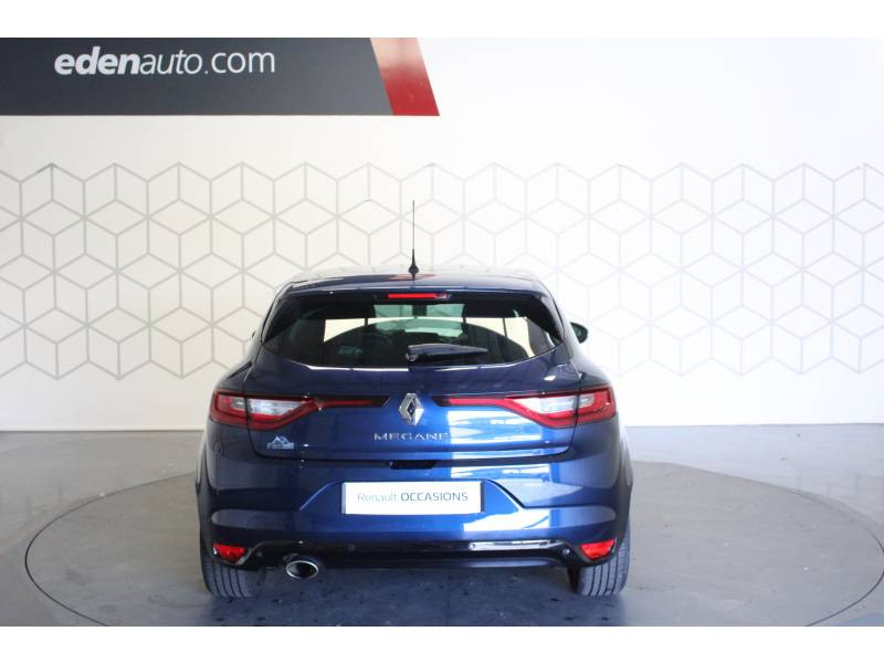 Renault Megane IV BERLINE dCi 130 Energy Intens Bleu occasion à TARBES - photo n°4