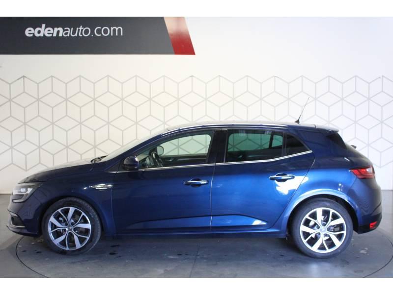 Renault Megane IV BERLINE dCi 130 Energy Intens Bleu occasion à TARBES - photo n°3
