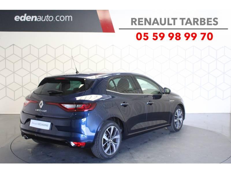 Renault Megane IV BERLINE dCi 130 Energy Intens Bleu occasion à TARBES - photo n°5