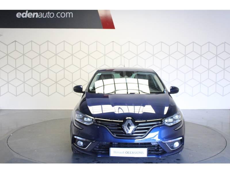 Renault Megane IV BERLINE dCi 130 Energy Intens Bleu occasion à TARBES - photo n°2