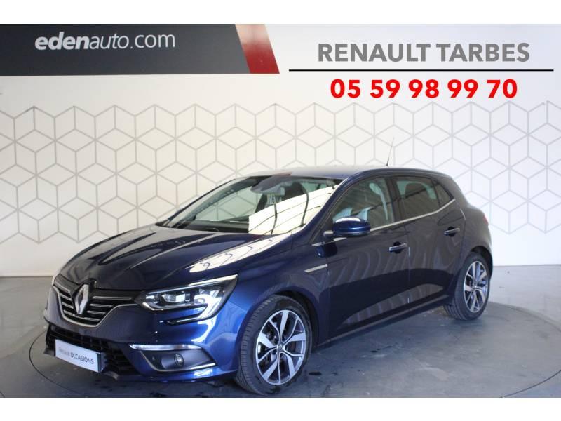 Renault Megane IV BERLINE dCi 130 Energy Intens Bleu occasion à TARBES