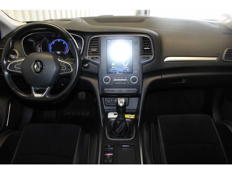 Renault Megane IV BERLINE dCi 130 Energy Intens Bleu occasion à TARBES - photo n°8