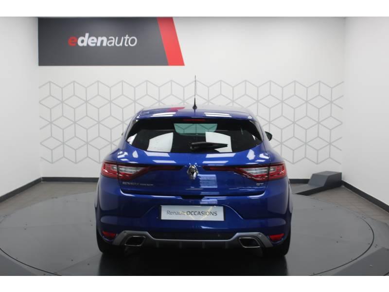 Renault Megane IV BERLINE dCi 165 Energy EDC GT Bleu occasion à DAX - photo n°4