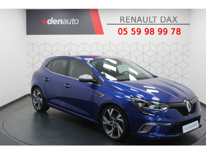 Renault Megane IV BERLINE dCi 165 Energy EDC GT Bleu occasion à DAX