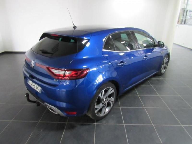 Renault Megane IV BERLINE dCi 165 Energy EDC GT Bleu occasion à FLERS