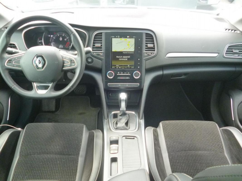 Renault Megane IV BERLINE TCe 140 EDC FAP Intens Blanc occasion à BAYEUX - photo n°5