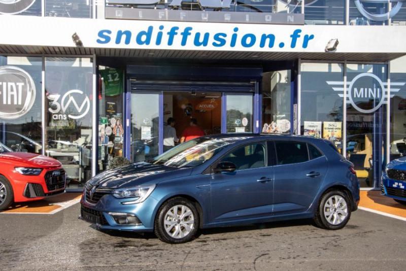 Renault Megane IV Blue dCi 115 EDC DELUXE GPS Bleu occasion à Toulouse