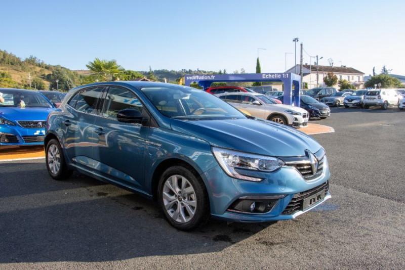 Renault Megane IV Blue dCi 115 EDC DELUXE GPS Bleu occasion à Toulouse - photo n°4