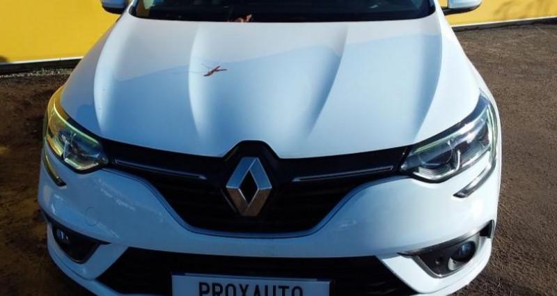 Renault Megane IV BUSINESS Berline dCi 110 Energy EDC Blanc occasion à Fontenay-le-vicomte - photo n°2