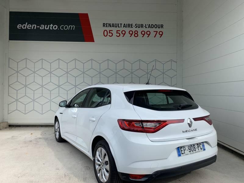 Renault Megane IV SOCIETE DCI 110 ENERGY AIR NAV REVERSIBLE Blanc occasion à Aire sur Adour - photo n°3