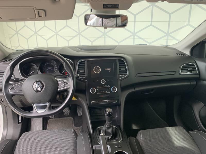 Renault Megane IV SOCIETE DCI 110 ENERGY AIR NAV REVERSIBLE Blanc occasion à Aire sur Adour - photo n°11