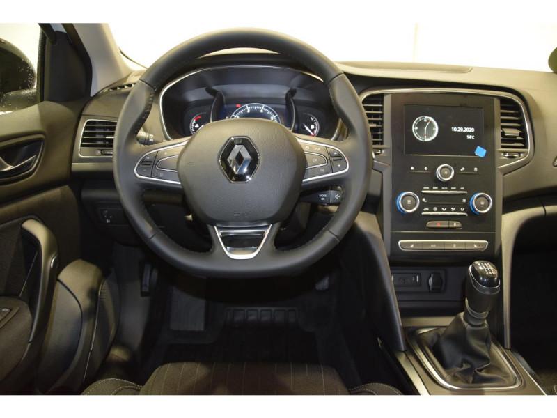 Renault Megane Mégane 1.3 TCe - 115 - FAP  IV BERLINE Limited PHASE 1 Blanc occasion à Riorges - photo n°10