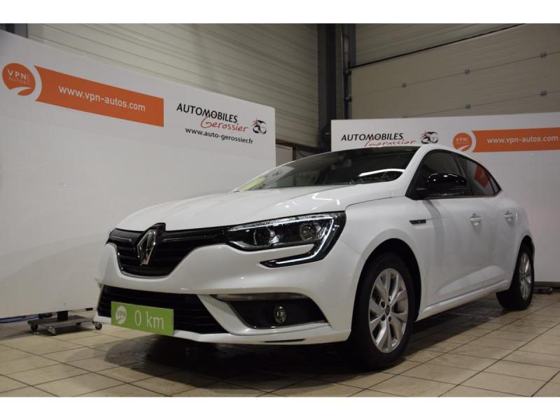 Renault Megane Mégane 1.3 TCe - 115 - FAP  IV BERLINE Limited PHASE 1 Blanc occasion à Riorges
