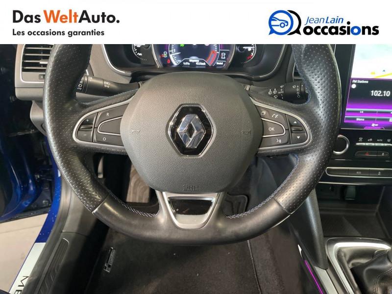 Renault Megane Mégane IV Berline TCe 160 Energy Intens 5p Bleu occasion à Seynod - photo n°12