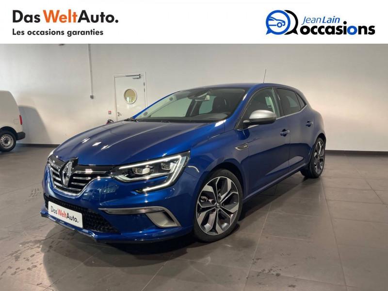 Renault Megane Mégane IV Berline TCe 160 Energy Intens 5p Bleu occasion à Seynod