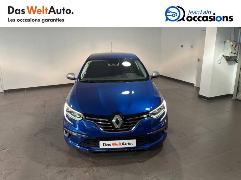 Renault Megane Mégane IV Berline TCe 160 Energy Intens 5p Bleu occasion à Seynod - photo n°2