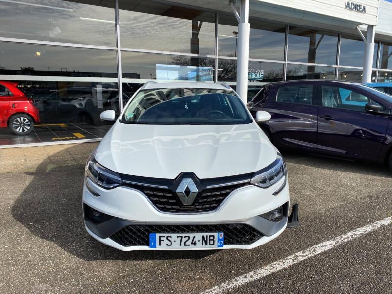 Renault Megane Mégane IV Estate E-TECH Plug-In Hybride 160 R.S. Line 5p Blanc occasion à Agen - photo n°2