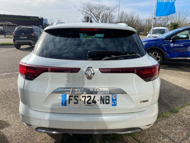 Renault Megane Mégane IV Estate E-TECH Plug-In Hybride 160 R.S. Line 5p Blanc occasion à Agen - photo n°4