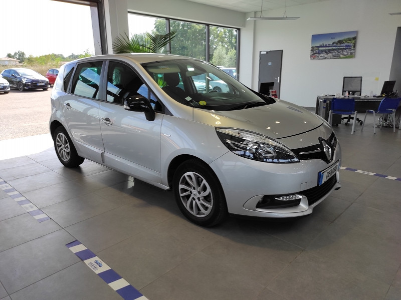 Renault Scenic III 1.5 DCI 110CH ENERGY LIMITED EURO6 2015 Gris occasion à Mérignac - photo n°2