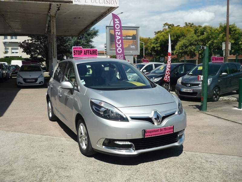 Renault Scenic III 1.6 DCI 130CH ENERGY DYNAMIQUE ECO² Gris occasion à Toulouse - photo n°3