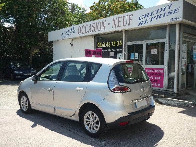 Renault Scenic III 1.6 DCI 130CH ENERGY DYNAMIQUE ECO² Gris occasion à Toulouse - photo n°4