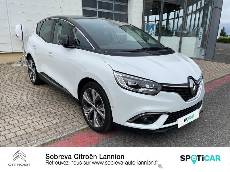 Renault Scenic 1.3 TCe 140ch energy Intens Blanc occasion à LANNION - photo n°3