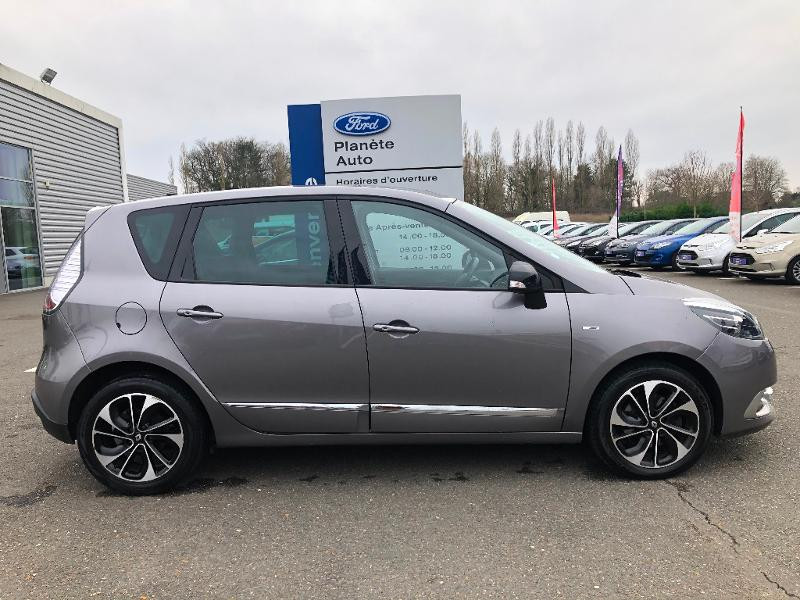 Renault Scenic 1.5 dCi 110ch Bose EDC Gris occasion à Gien - photo n°18
