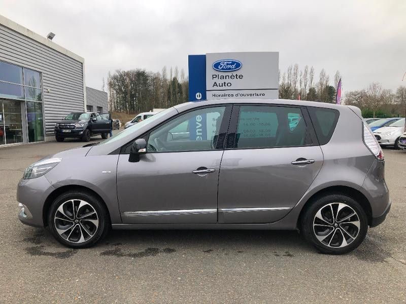 Renault Scenic 1.5 dCi 110ch Bose EDC Gris occasion à Gien - photo n°3