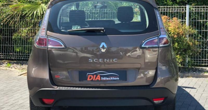 Renault Scenic 1.5 DCI 110CH BUSINESS EDC Marron occasion à COLMAR - photo n°7
