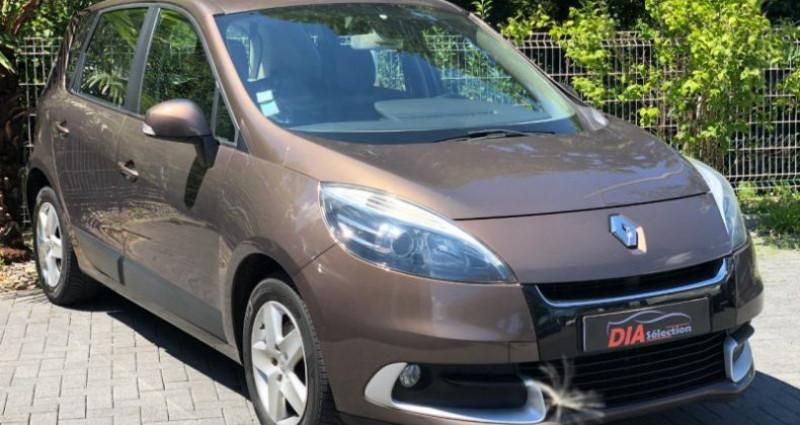 Renault Scenic 1.5 DCI 110CH BUSINESS EDC Marron occasion à COLMAR - photo n°4