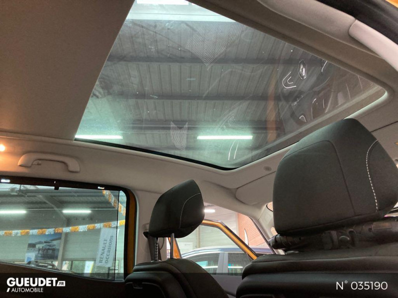 Renault Scenic 1.5 dCi 110ch energy Business Jaune occasion à Abbeville - photo n°11
