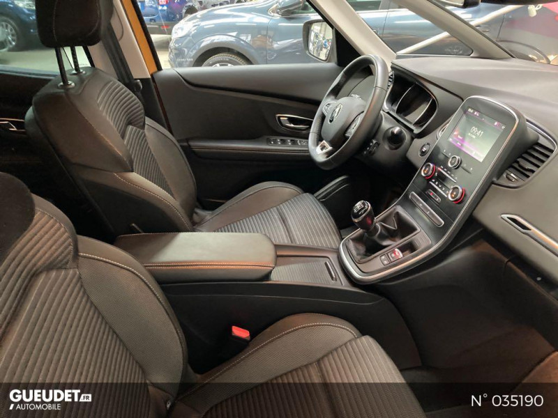 Renault Scenic 1.5 dCi 110ch energy Business Jaune occasion à Abbeville - photo n°5
