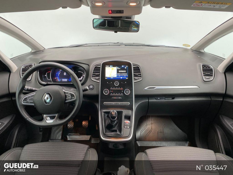 Renault Scenic 1.7 Blue dCi 120ch Life Gris occasion à Abbeville - photo n°10
