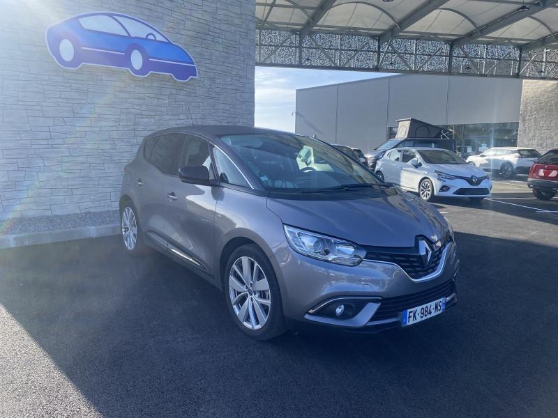 Renault Scenic 1.7 BLUE DCI 120CH LIMITED Gris occasion à Serres-Castet - photo n°6