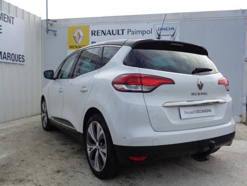 Renault Scenic IV dCi 130 Energy Intens Blanc occasion à PAIMPOL - photo n°2
