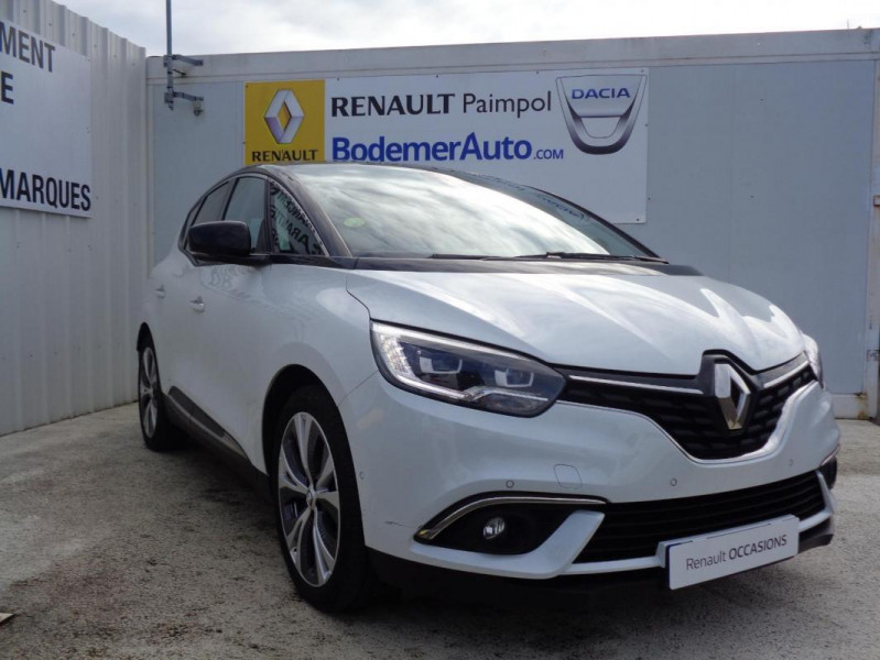 Renault Scenic IV dCi 130 Energy Intens Blanc occasion à PAIMPOL - photo n°13