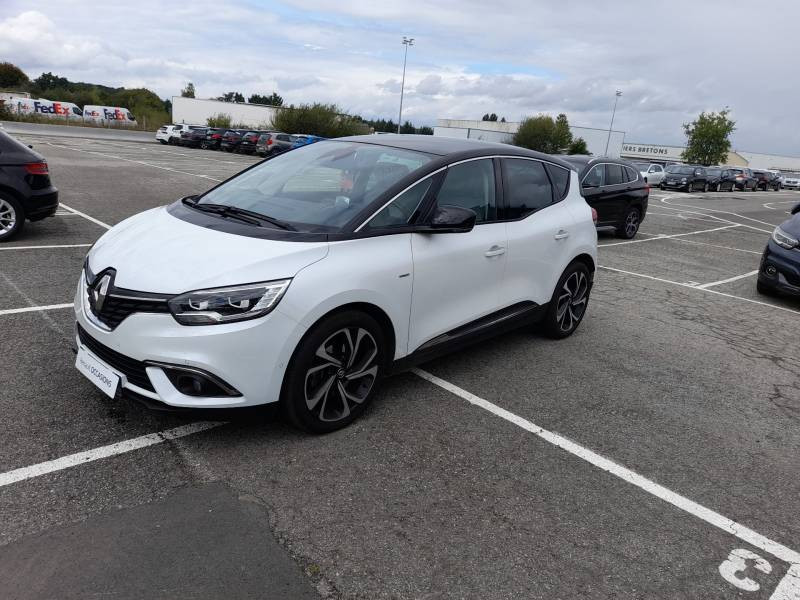Renault Scenic IV dCi 160 Energy EDC Edition One Blanc occasion à VANNES - photo n°2