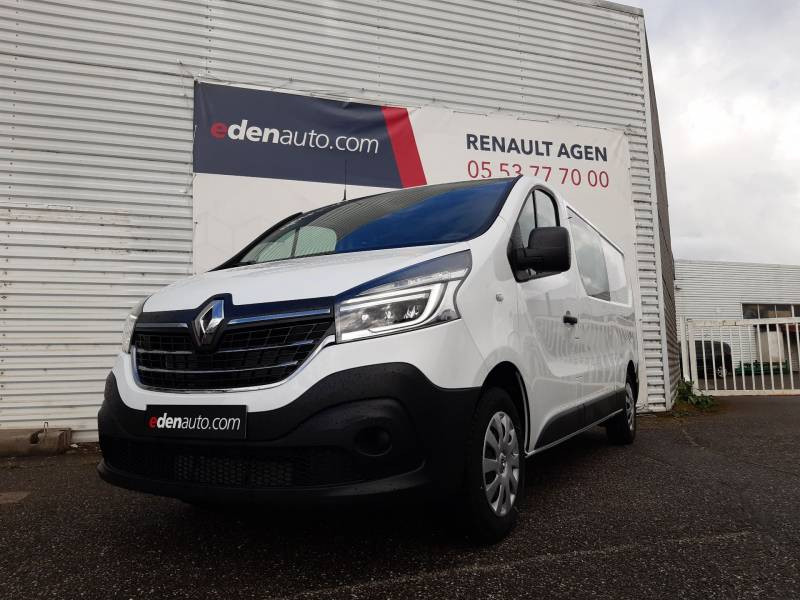 Renault Trafic CABINE APPROFONDIE CA L2H1 1200 KG DCI 120 GRAND CONFORT Blanc occasion à Agen