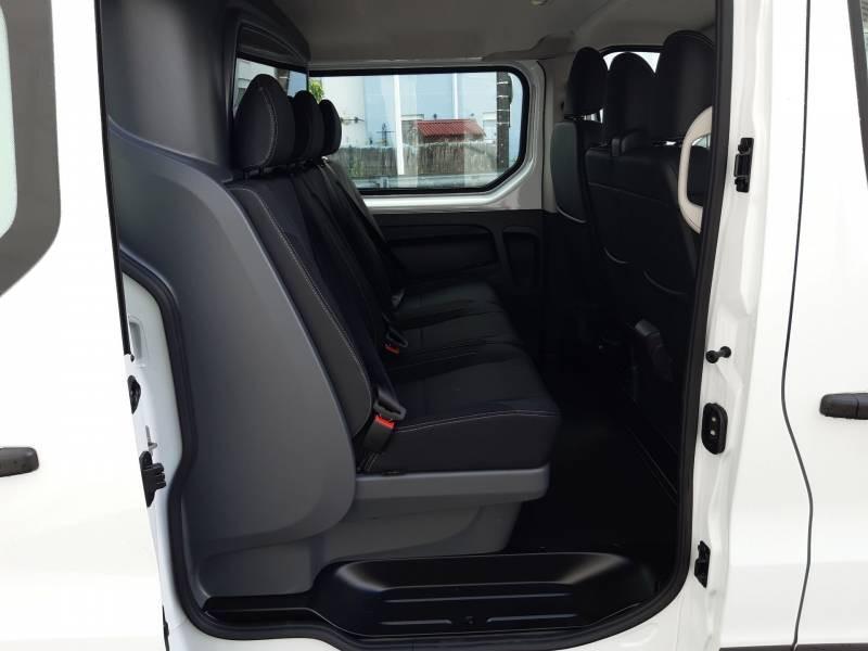 Renault Trafic CABINE APPROFONDIE CA L2H1 1200 KG DCI 120 GRAND CONFORT Blanc occasion à Agen - photo n°4