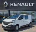 Renault Trafic CABINE APPROFONDIE CA L2H1 1200 KG Blanc à PAIMPOL 22