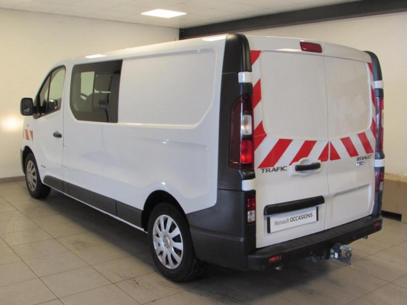 Renault Trafic CABINE APPROFONDIE CA L2H1 1200 KG Blanc occasion à VALFRAMBERT - photo n°3