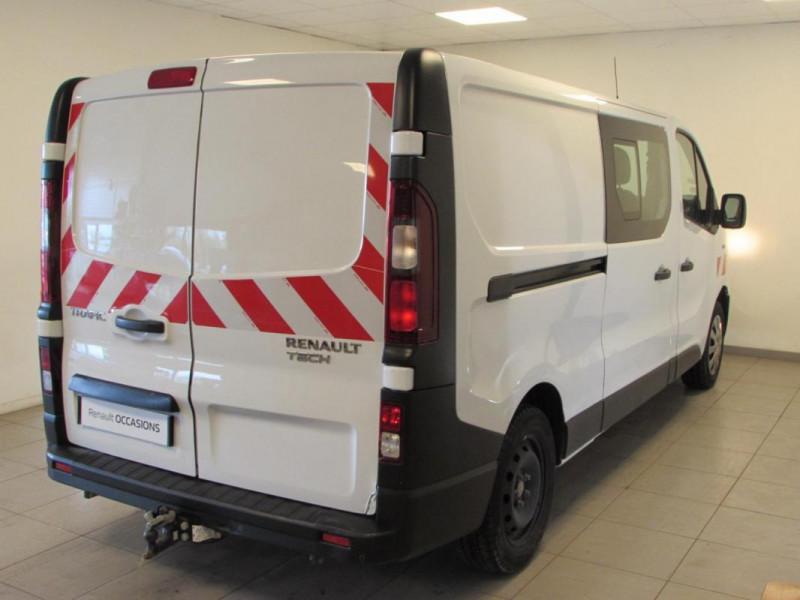 Renault Trafic CABINE APPROFONDIE CA L2H1 1200 KG Blanc occasion à VALFRAMBERT - photo n°4